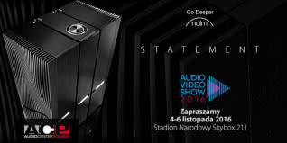 Naim Statement + Monitor Audio Platinum PL500 na Audio Video Show