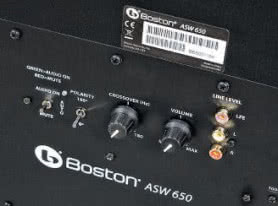 BOSTON ACOUSTICS ASW 650