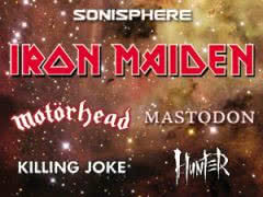 Killing Joke i Hunter na Sonisphere Festival 2011