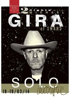 """2 Nights With Michael Gira of Swans - Acoustic Solo"" w Warszawie"