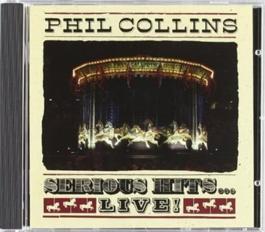 PHIL COLLINS Serious Hits…Live!