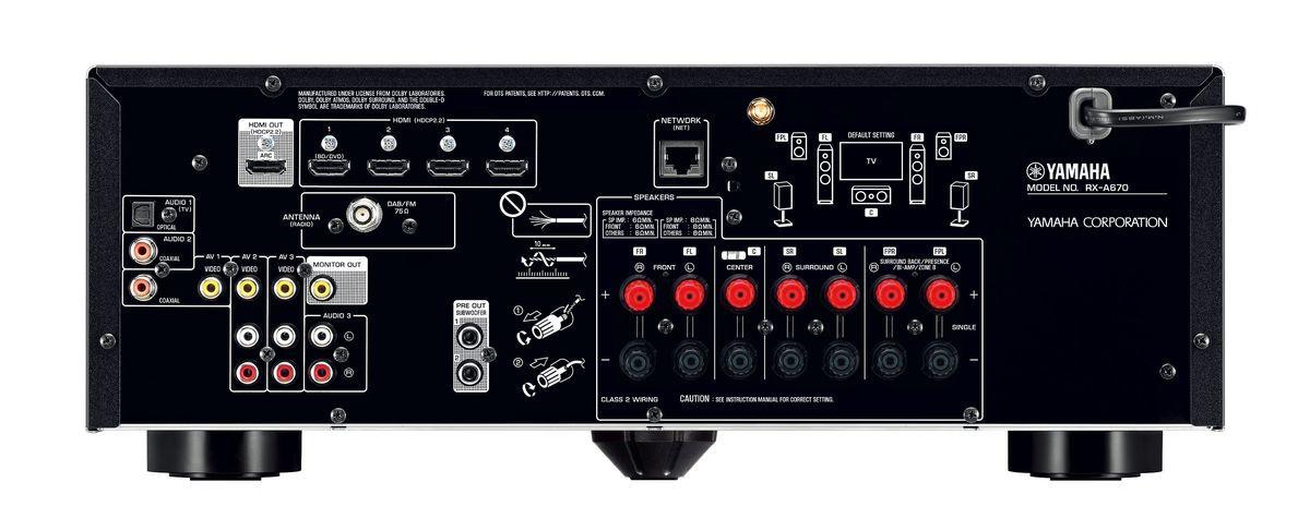 amplituner yamaha musiccast rx a670. Black Bedroom Furniture Sets. Home Design Ideas