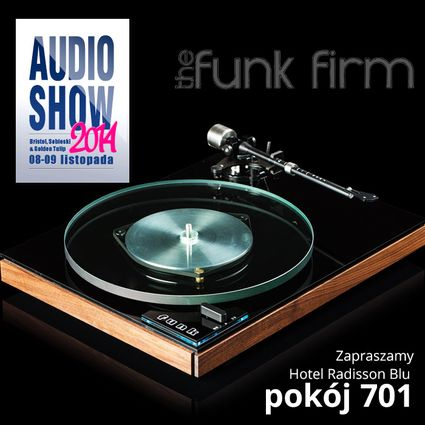 The Funk Firm na Audio Show