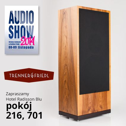 Trenner and Friedl na Audio Show 2014